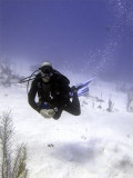 Dive Instructor at Work