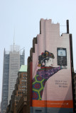 Billboard & NY Times Building - North View at 33rd Street