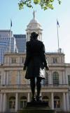 Nathan Hale Statue & City Hall