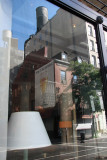 Interior Furnishings Window with Reflection