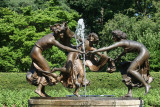 Dancing Muses & Fountain
