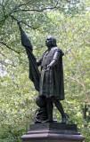 Christopher Columbus Statue - Central Park near Literary Walk