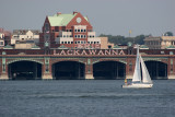 Lackawanna Railroad Terminal from Pier 40