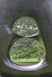 Oval with Points - Henry Moore Sculpture