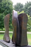 Knife Edge Two Pieces - Henry Moore Sculpture