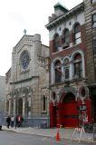 San Salvador Church & a Fire Station House
