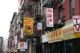 Chinese Signs below Broome Street