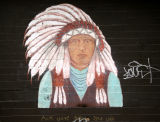 Indian Chief Mural