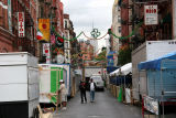 San Gennaro Festival Preparations