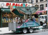 San Gennaro Festival Preparations at Mott Street