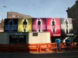 Style.com Billboards at 7th Avenue Construction Site