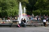 Circus Amok - View from the Fountain