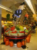 Supermarket Harvest & Halloween Display
