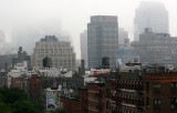 Foggy Morning - Downtown Manhattan