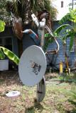 Riding a Radar Dish