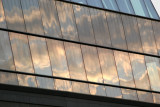 Sunrise - Cloud Reflections at NYU Student Center