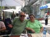 my brother Steve and Yvonne in Budapest
