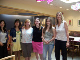 Ped moms and daughters at NIH Clinic