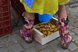 potatoes and roses