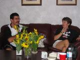 Gracious host and hostess
