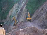 Bulldozers flatten the path - P1280370.jpg