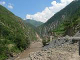 A foot bridge on Kunhar, Kaghan Valley - P1280470.jpg
