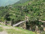 Foot bridge on River Kunhar, Kaghan Valley - P1280471-2.jpg