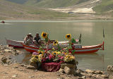 Fresh bouquets alongside the lake - P1290276.jpg