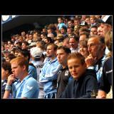 ... Faces in the stadium ...