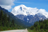 The Rockies, Mount Robson, West Face from the Yellowhead Highway