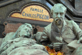 Célèbre stèle de la famille Pigeon
