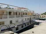 Our OAT ship, the M/S River Hathor