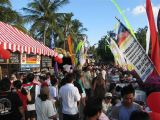 Kuta Karnival food stalls