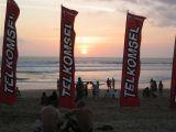 sunset on Legian Kuta Beach