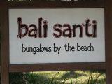 Bali Santi, Bungalows by the beach www.balisanti.com Bali Santi - Bungalows by the beach Jalan Raya Candi Dasa, East Bali T. +62 - 363 - 41611 | E : info@balisanti.com
