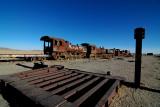 Train Cemetery in Uyuni