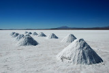 Drying Salt on the Salar de Uyuni