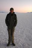 Nathaniel on the Salar de Uyuni