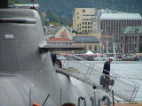 U34-Bergen-Norwegen-Arne Herrler Leaving the Ship