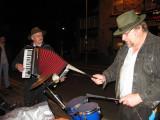 Folk Festival Outside a Pub in Uppermill, Oldham,  July 2008