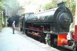 Steam Train at Haitherwaite Train Station
