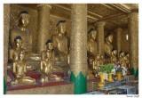Bouddha aligne.