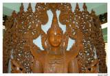 Bouddha bois.
