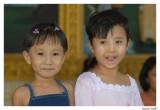 Enfants  temple Rangoon