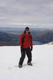 snowboard no Cerro Catedral