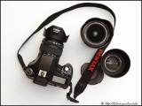 Pentax K200D with lenses