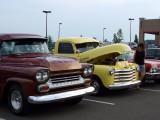Chevy Trucks at the Car Cruise