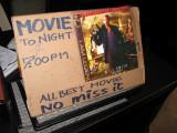 Movie Night in Vang Vieng