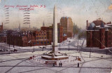 McKinley Monument Winter Scene