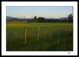 Mount Baker approaching dusk